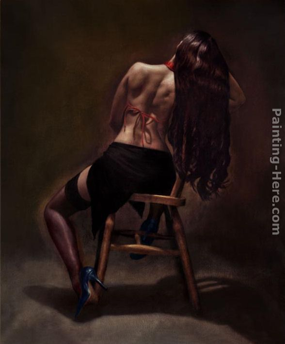 Bella Reposa painting - Hamish Blakely Bella Reposa art painting