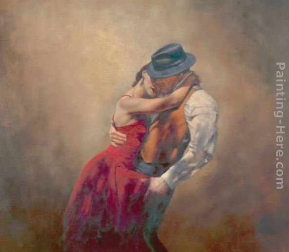 Hamish Blakely In A Whisper Of Shadows Art Painting