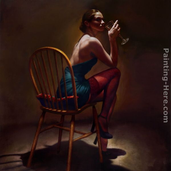 Sitting Pretty painting - Hamish Blakely Sitting Pretty art painting