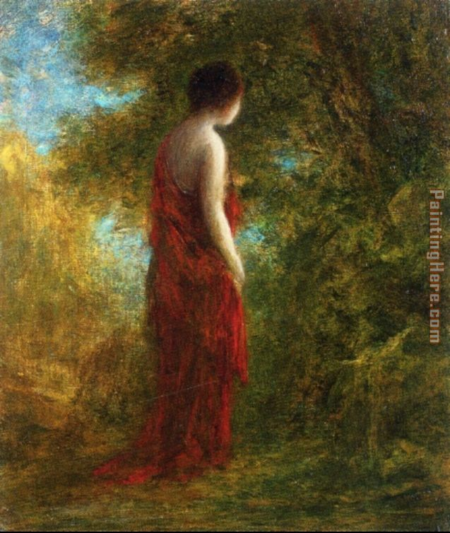 Autumn painting - Henri Fantin-Latour Autumn art painting