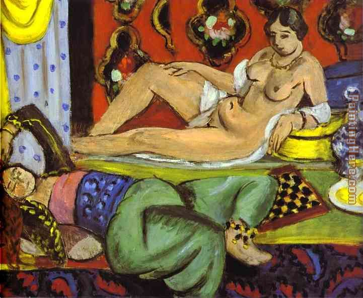 Odalisques painting - Henri Matisse Odalisques art painting