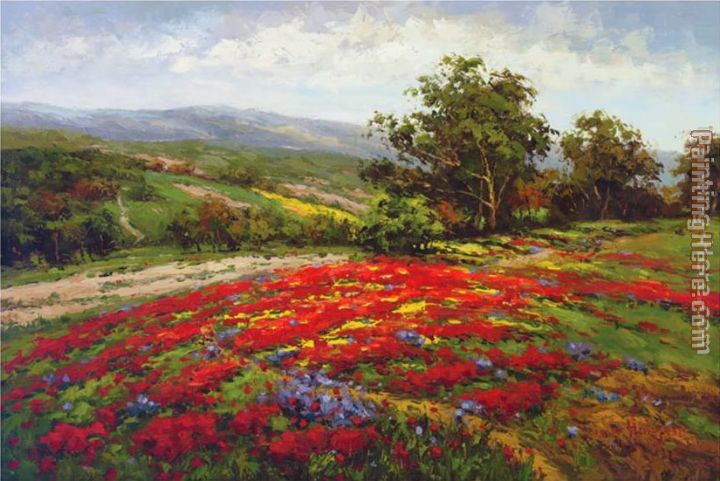 Hulsey Campo di Fiore II Art Painting