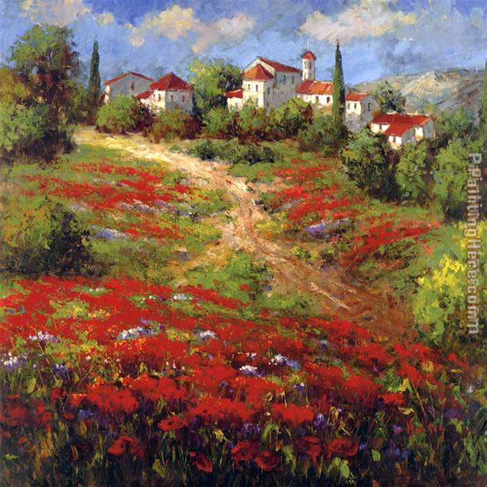 Hulsey Country Village II Art Painting