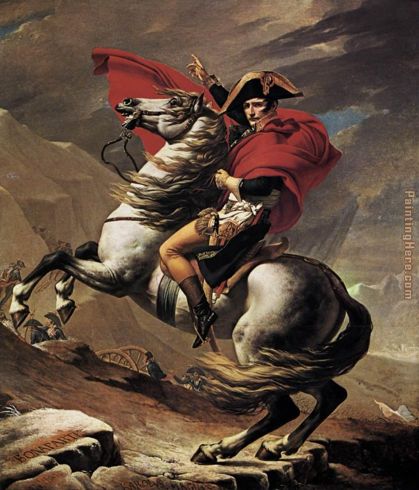 napoleon crossing the alps painting david Napoleon crossing the alps art painting for sale shop your favorite jacques louis david napoleon crossing the alps art painting without breaking your banks.