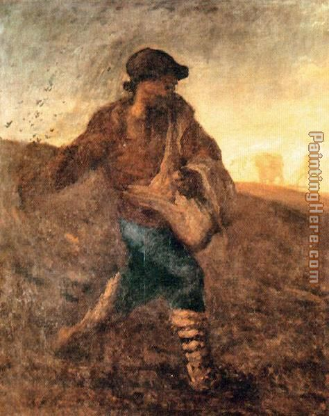The sower painting - Jean Francois Millet The sower art painting