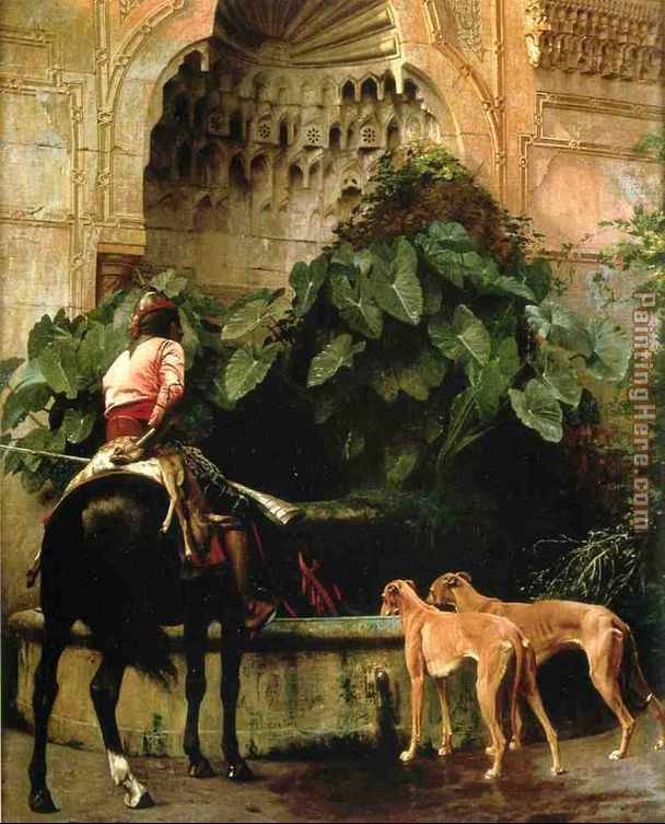 Home from the Hunt painting - Jean-Leon Gerome Home from the Hunt art painting