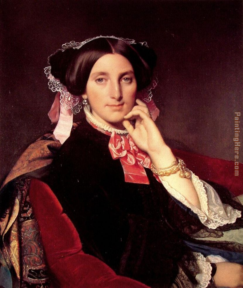 Jean Auguste Dominique Ingres Madame Henri Gonse Art Painting