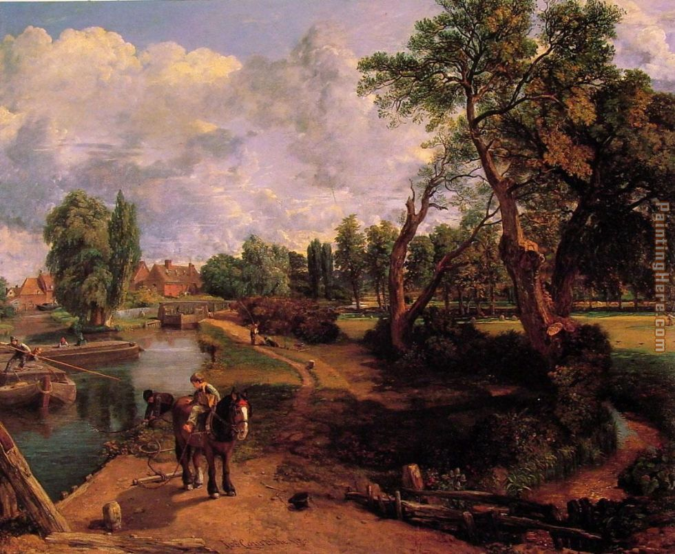John Constable Flatford Mill Art Painting