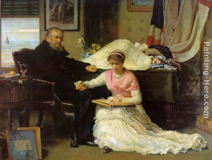 John Everett Millais North-West Passage Art Painting