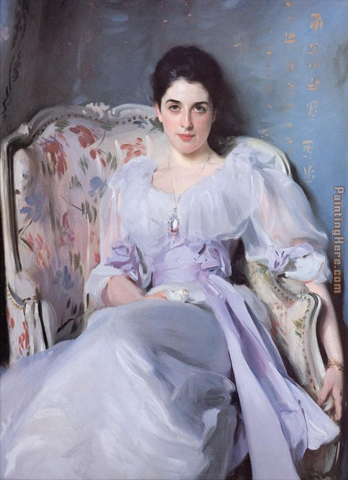 Lady Agnew painting - John Singer Sargent Lady Agnew art painting