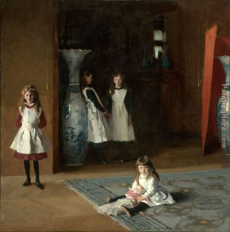 The Daughters of Edward Darley Boit painting - John Singer Sargent The Daughters of Edward Darley Boit art painting