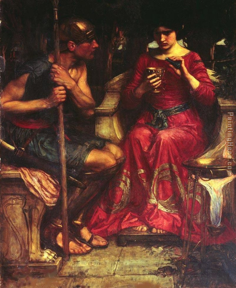 John William Waterhouse Jason and Medea Art Painting