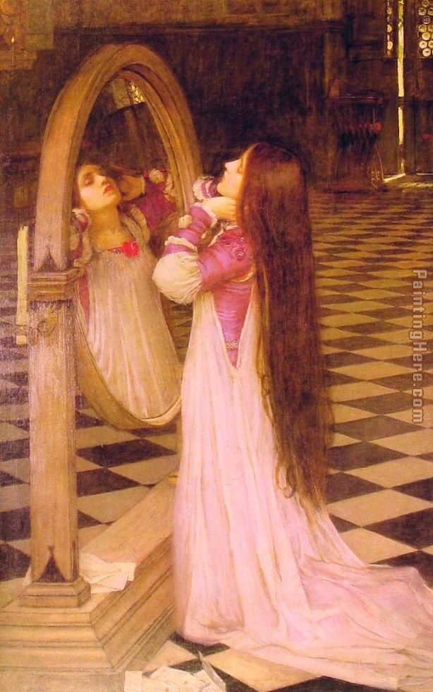 Mariana in the South painting - John William Waterhouse Mariana in the South art painting