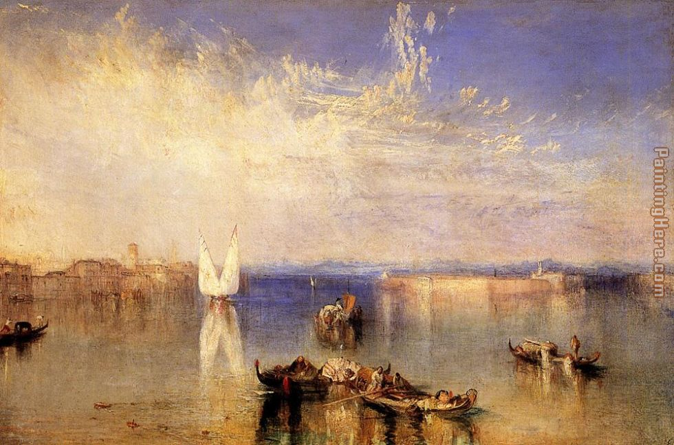Campo Santo Venice painting - Joseph Mallord William Turner Campo Santo Venice art painting
