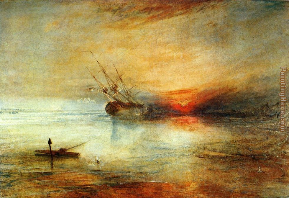 Joseph Mallord William Turner Fort Vimieux Art Painting