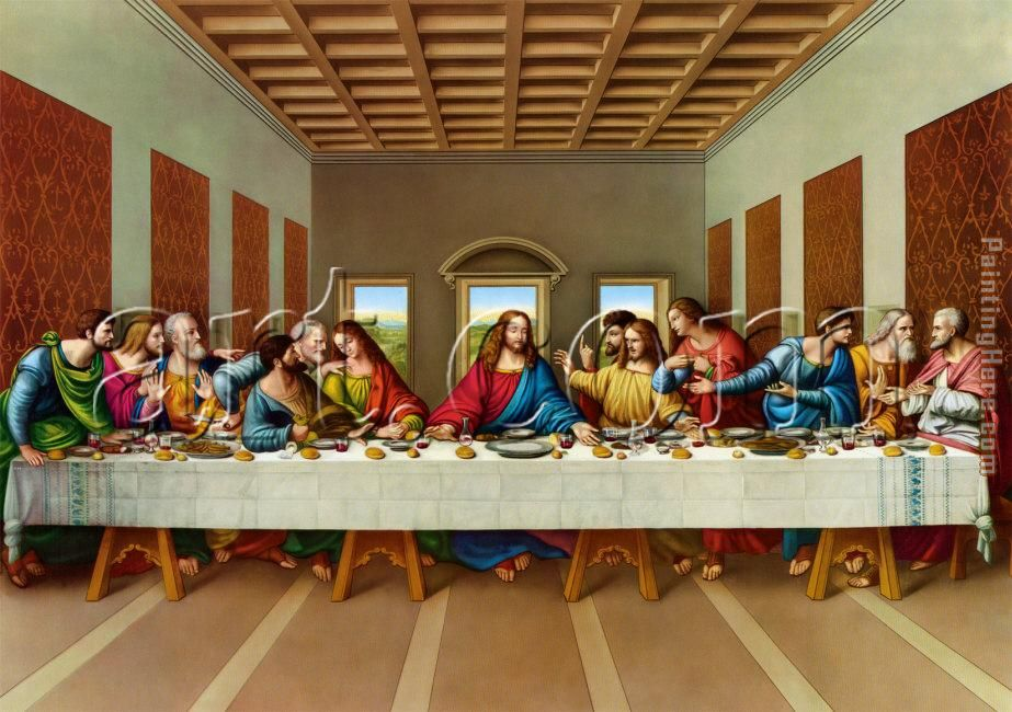 da vincis last supper image
