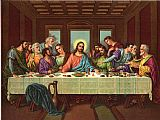 picture of the last supper II by Leonardo da Vinci