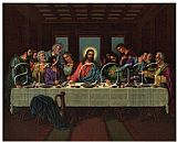 picture of the last supper by Leonardo da Vinci