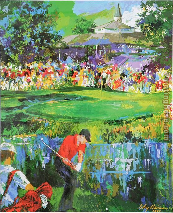 Leroy Neiman 18th at Valhalla Art Painting