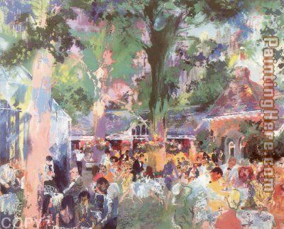 Tavern on the Green painting - Leroy Neiman Tavern on the Green art painting