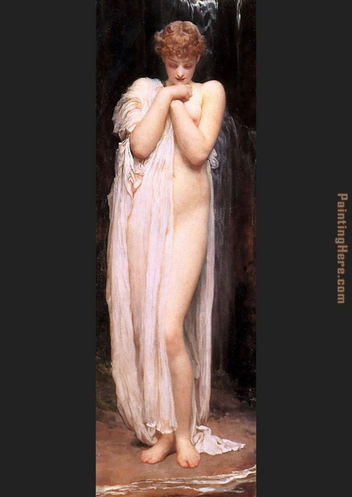 Lord Frederick Leighton A Bather 1 Art Painting