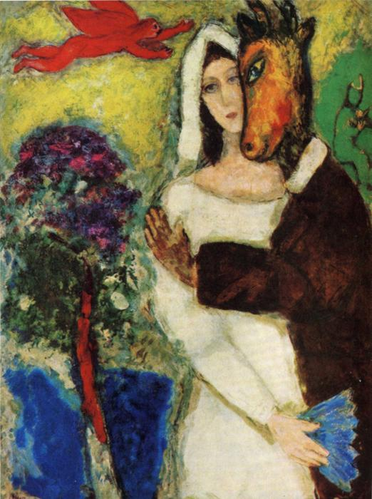Marc Chagall Midsummer Night's Dream Art Painting