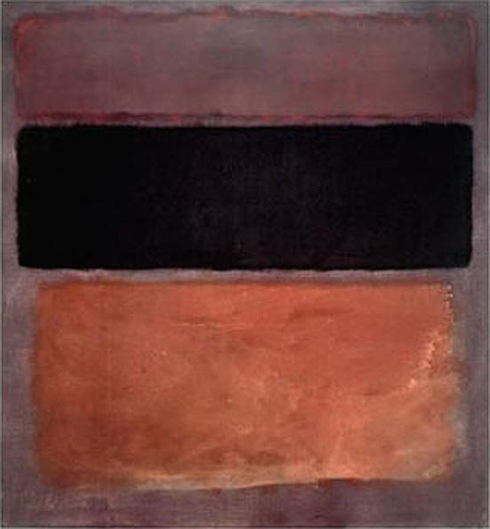 No 10 Brown Black Sienna on Dark Wine 1963 painting - Mark Rothko No 10 Brown Black Sienna on Dark Wine 1963 art painting