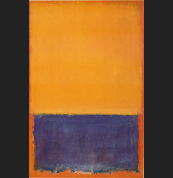 Yellow and Blue painting - Mark Rothko Yellow and Blue art painting