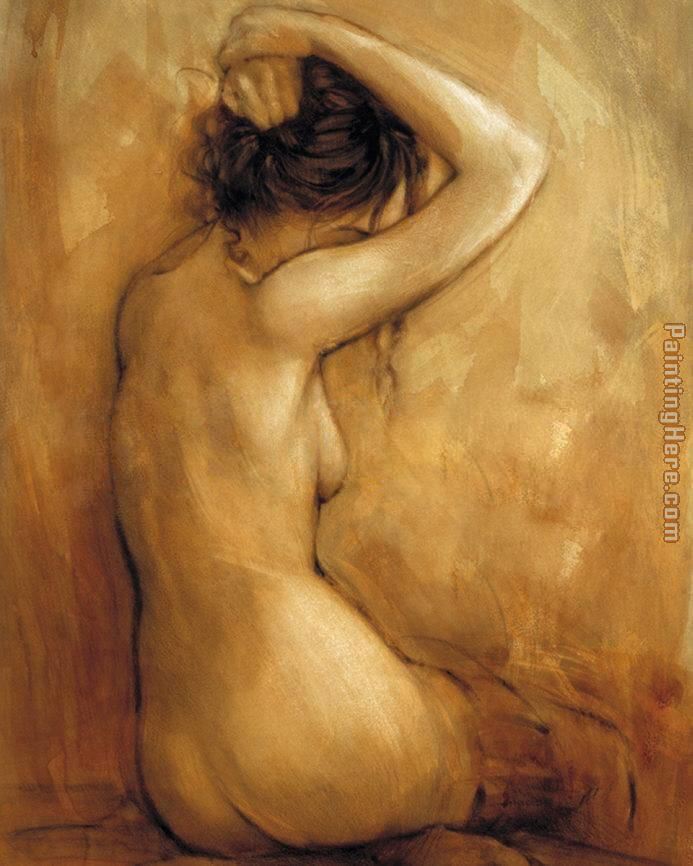 Mark Spain Contemplation Art Painting