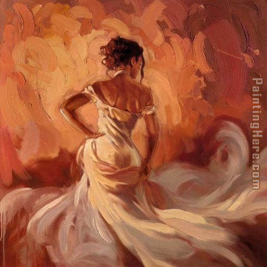 Pure Elegance painting - Mark Spain Pure Elegance art painting