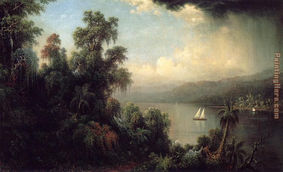 Martin Johnson Heade Coast of Jamaica Art Painting