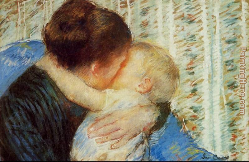 Mother And Child 7 painting - Mary Cassatt Mother And Child 7 art painting