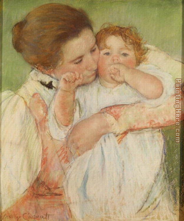Mary Cassatt Mother and Child, 1897 Art Painting