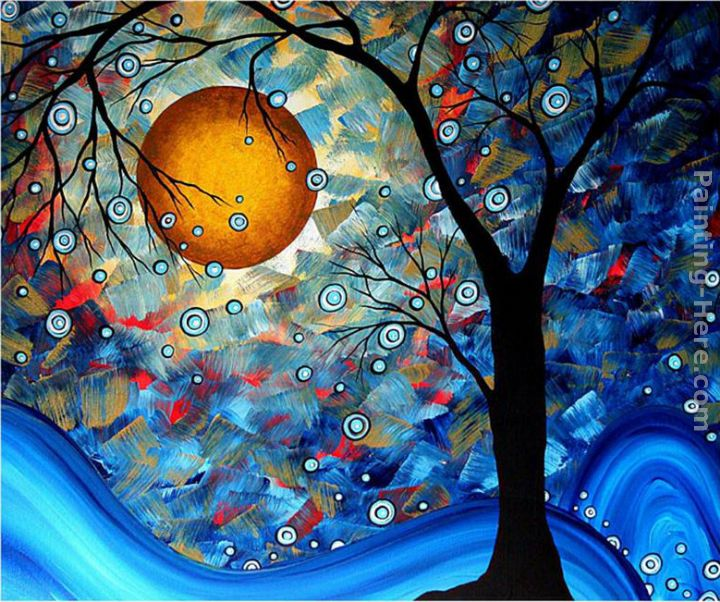 Blue Essence painting - Megan Aroon Duncanson Blue Essence art painting