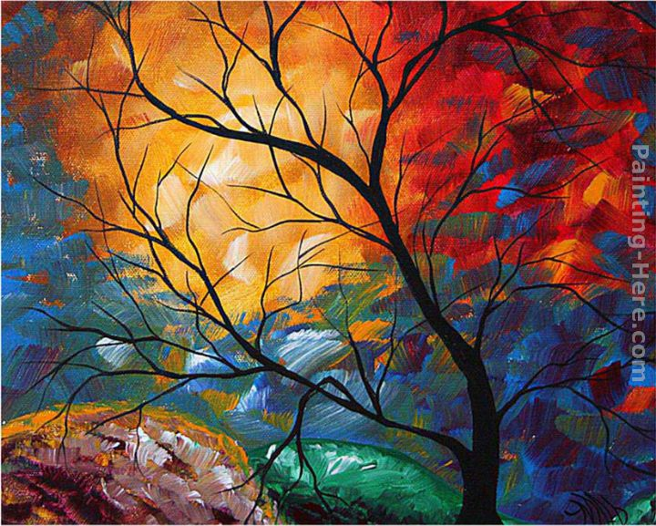 Jeweled Dreams painting - Megan Aroon Duncanson Jeweled Dreams art painting