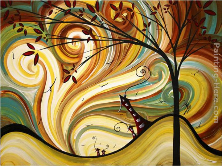 Out West painting - Megan Aroon Duncanson Out West art painting