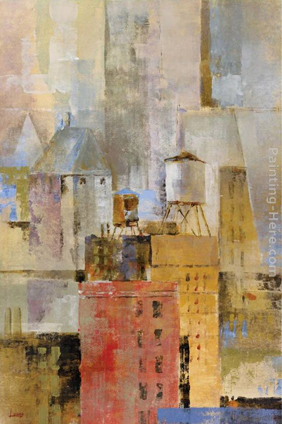 Michael Longo Water Tower I Art Painting