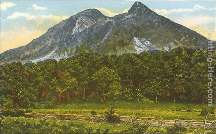Norman Parkinson Grandfather Mountain, Blue Range, Tennessee Art Painting