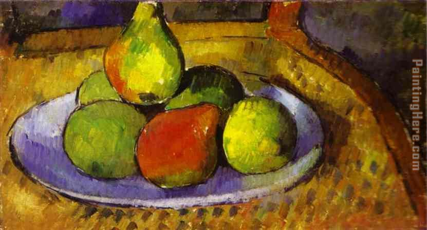 Still Life painting - Paul Cezanne Still Life art painting
