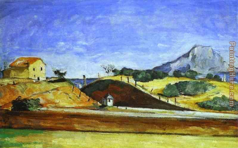The Railway Cutting painting - Paul Cezanne The Railway Cutting art painting
