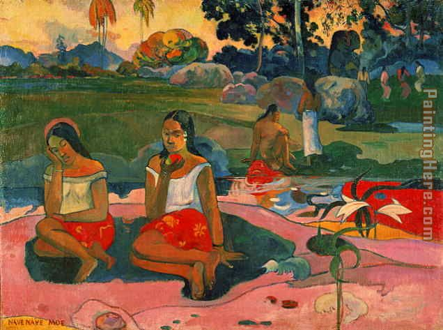 Paul Gauguin Nave Nave Moe Art Painting