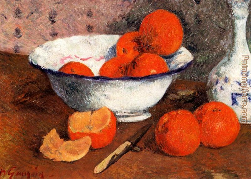 Still Life with Oranges painting - Paul Gauguin Still Life with Oranges art painting