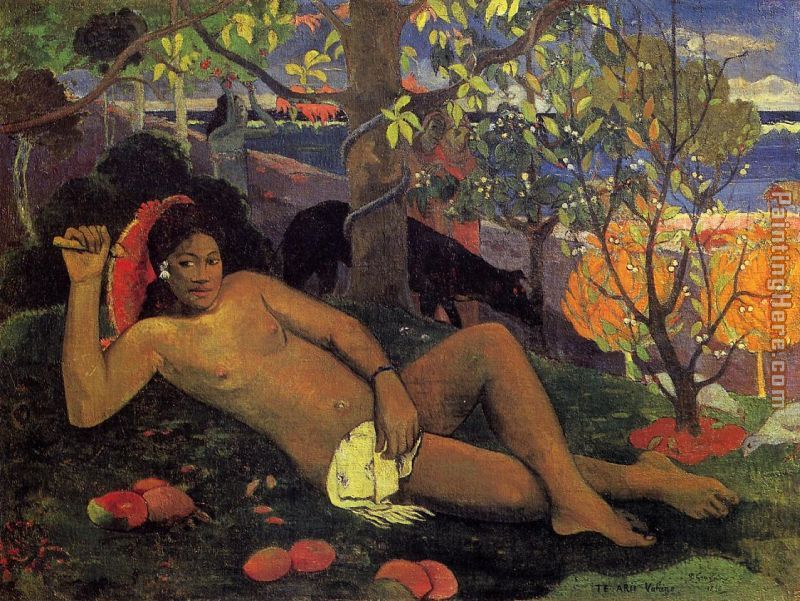 The King's Wife painting - Paul Gauguin The King's Wife art painting