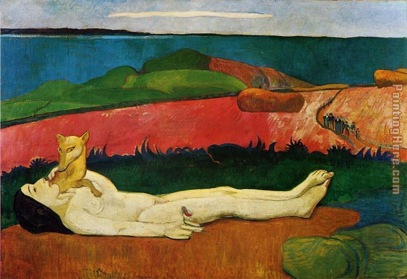 Paul Gauguin The Loss of Virginity Art Painting