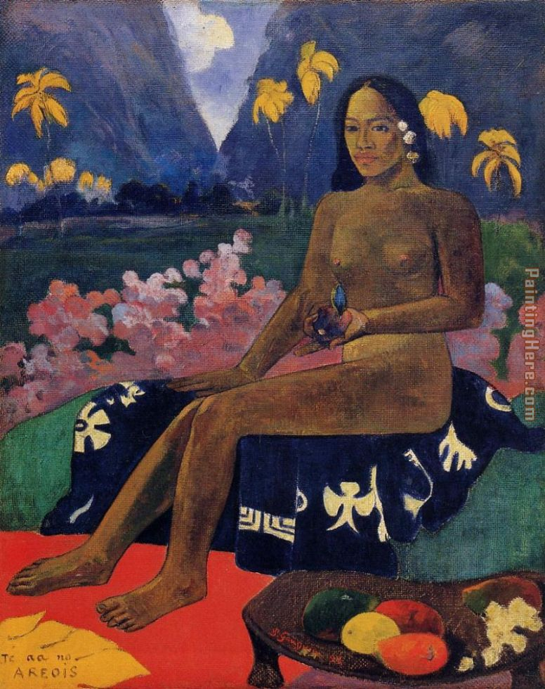 The Seed of Areoi painting - Paul Gauguin The Seed of Areoi art painting