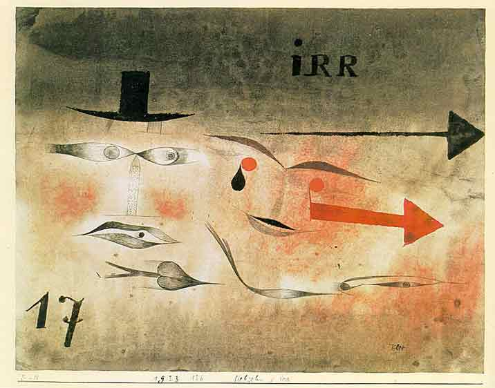 17 Astray painting - Paul Klee 17 Astray art painting