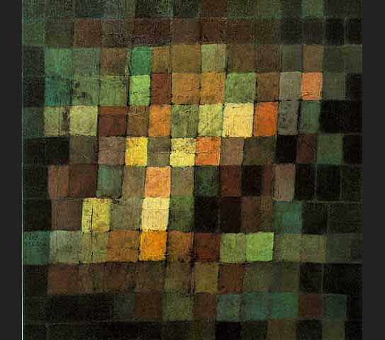 Ancient Sound painting - Paul Klee Ancient Sound art painting