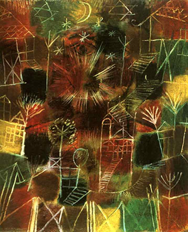 Paul Klee Cosmic composition Art Painting