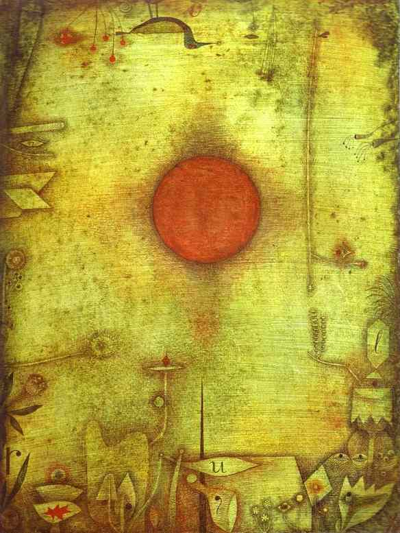 Paul Klee Marginen Art Painting