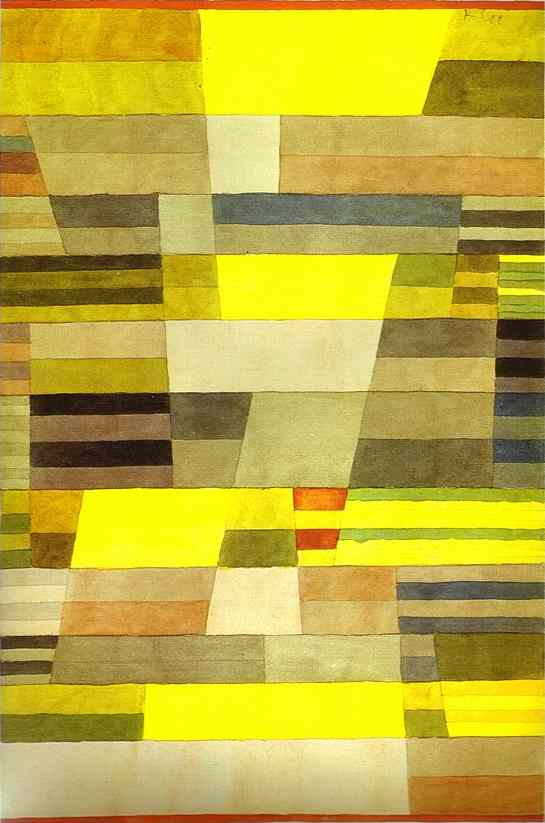 Paul Klee Monument in Fertile Country Art Painting
